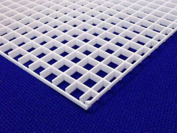 Plastic Fabrication | Cnc Laser Cutting | Gold Coast | Plastics Online | Egg Crate Diffuser