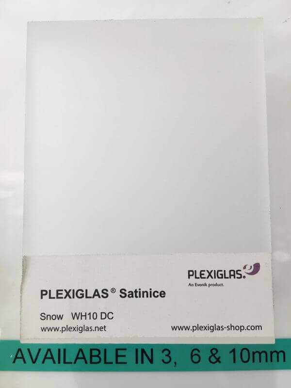Plastic Fabrication | Cnc Laser Cutting | Gold Coast | Plastics Online | Plexiglass Satin Ice Snow