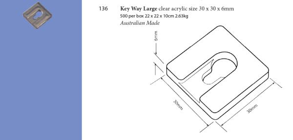 Plastic Fabrication   Cnc Laser Cutting   Gold Coast   Plastics Online   136 Key Way Large