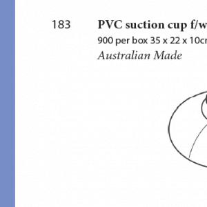 Plastic Fabrication | Cnc Laser Cutting | Gold Coast | Plastics Online | 183 Suction Cup W Metal Hook