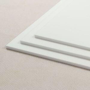 Plastic Fabrication | Cnc Laser Cutting | Gold Coast | Plastics Online | Perspex White Panels