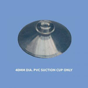 Plastic Fabrication | Cnc Laser Cutting | Gold Coast | Plastics Online | 40mm Dia. Pvc Suction Cup Only