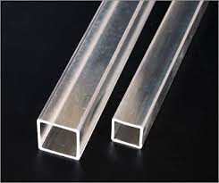 Plastic Fabrication | Cnc Laser Cutting | Gold Coast | Plastics Online | Clear Acrylic Square Tube