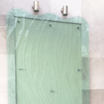Plastic Fabrication | Cnc Laser Cutting | Gold Coast | Plastics Online | 10mmdiamantina Slumped Clear Perspex Portico Residential B