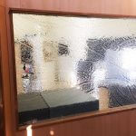 Plastic Fabrication | Cnc Laser Cutting | Gold Coast | Plastics Online | 3mm Diamantina Slumped Clear Perspex Divider 1