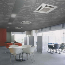 Plastic Fabrication | Cnc Laser Cutting | Gold Coast | Plastics Online | Rossini Suspended Moulded Ceiling Tiles Waves